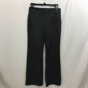 Athleta gray wide leg athletic pants